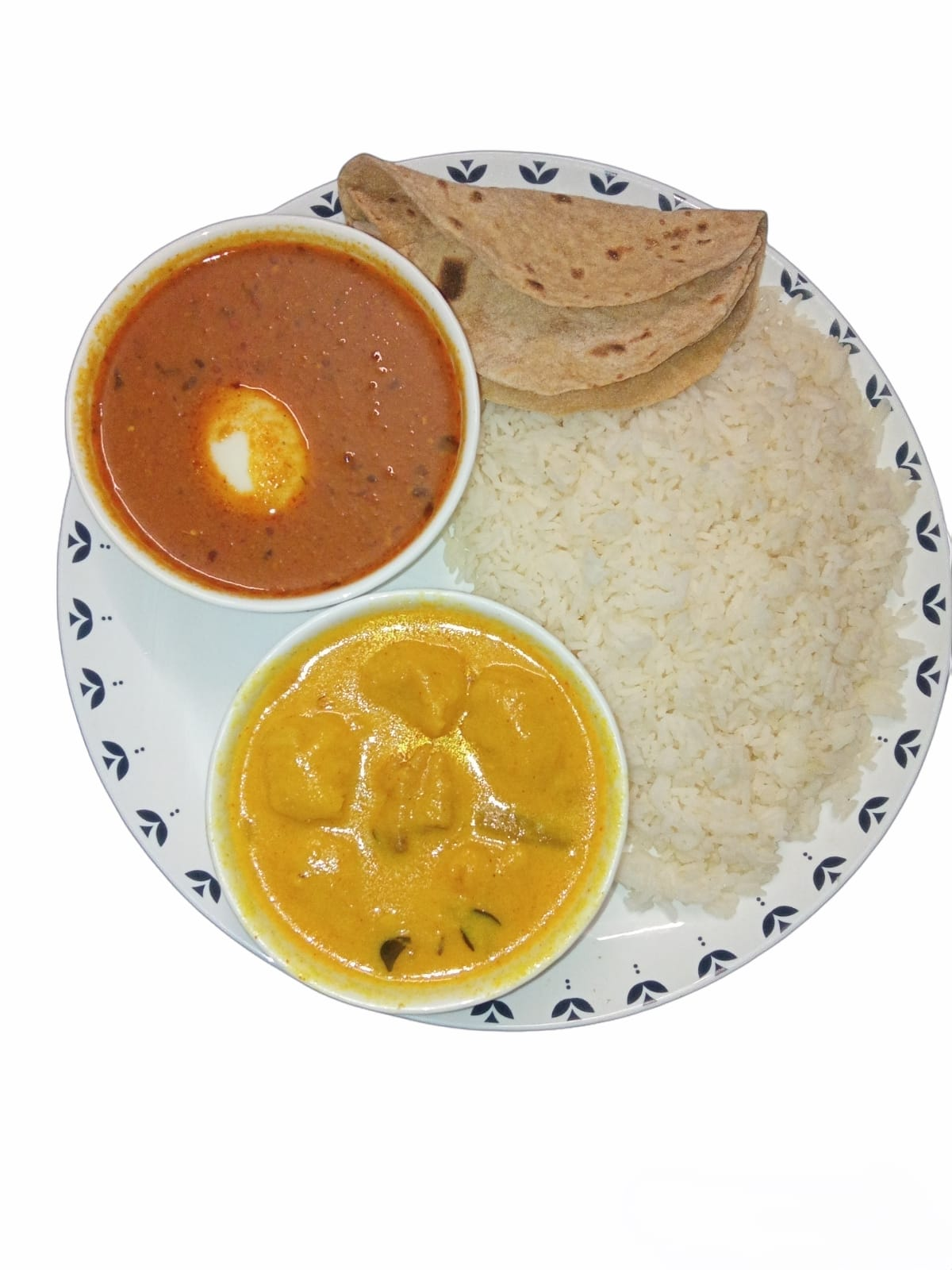 Dahi Kadi & Egg Curry