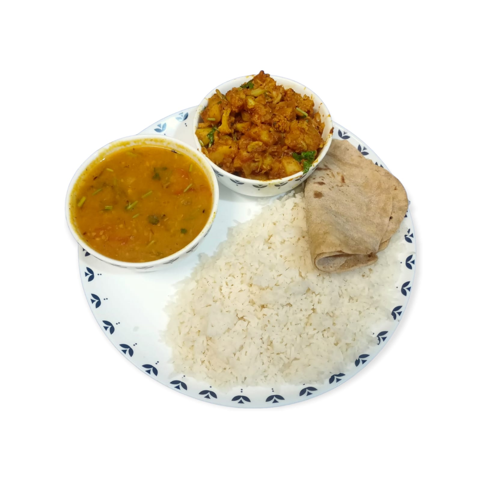 Gobi with Moong Dal